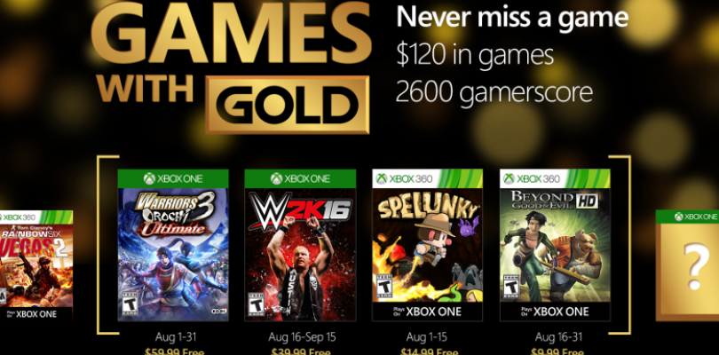 Games with Gold – Geile Gratis-Games im August