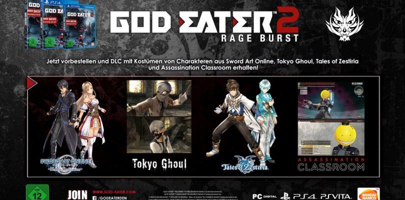 God Eater 2 – Das befindet sich im zweiten Vorbesteller-DLC