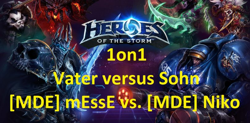 Heroes of the Storm – Best of Three – 1on1 – Vater versus Sohn
