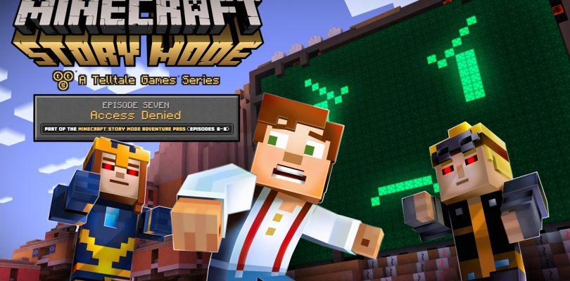 Minecraft Story Mode – Trailer und Release zu Episode 7