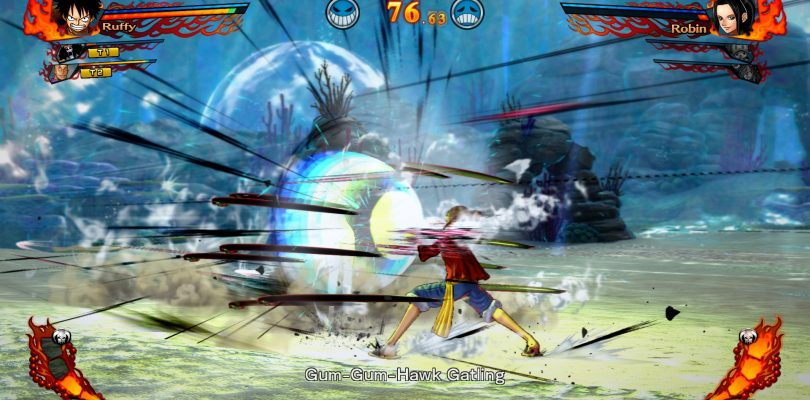 One Piece Burning Blood startet auf dem PC