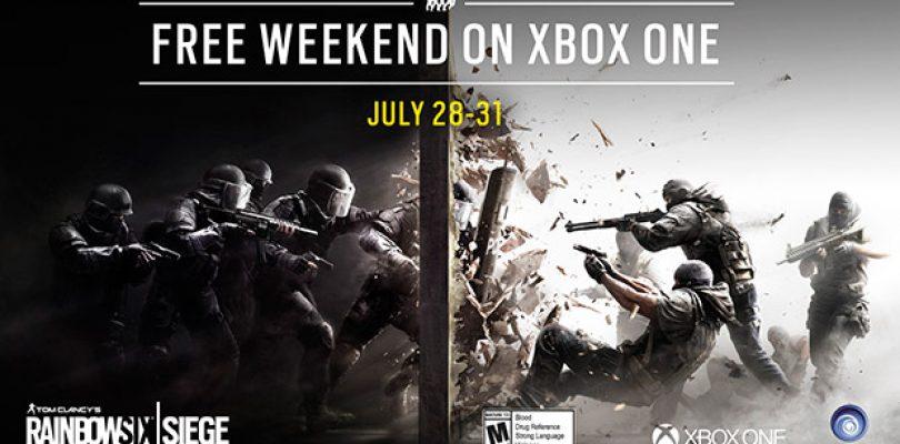 Rainbow Six Siege – Kommendes Wochenende gratis auf XBox One