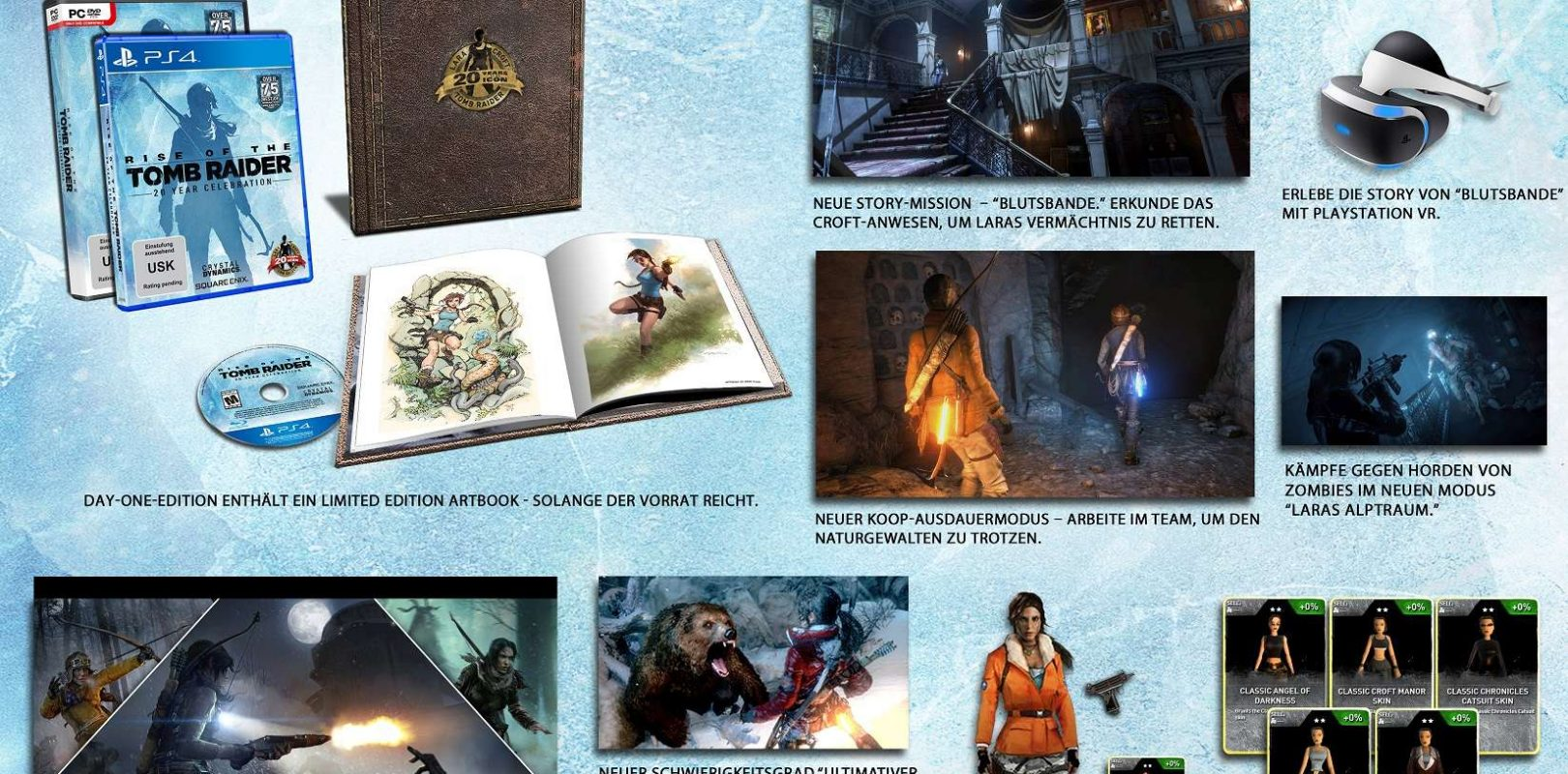 Rise Of The Tomb Raider 20 Jahriges Jubilaum Hier Ist Der Launch Trailer Mde Gaming