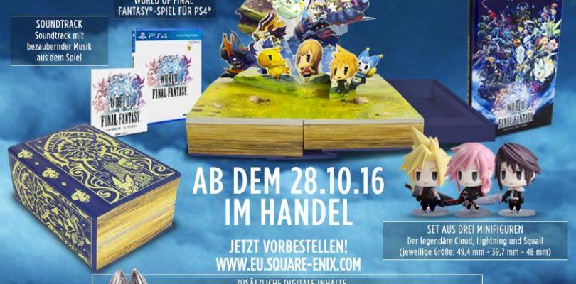 World of Final Fantasy – Das steckt in der Collectors Edition