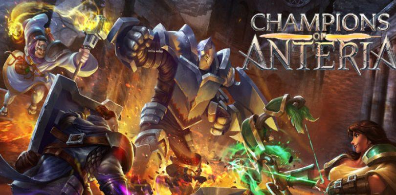 Champions of Anteria erscheint im Handel, Dev-Diary veröffentlicht