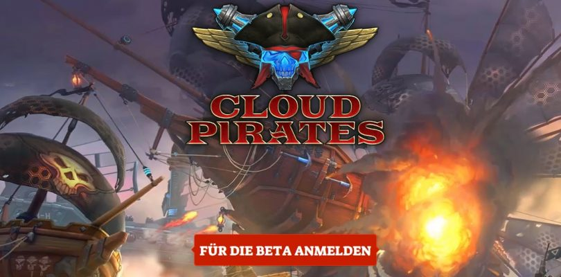 Cloud Pirates – Erster Trailer, Anmeldung zur Closed Beta gestartet