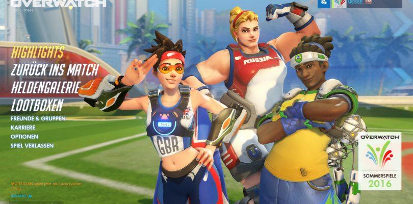 Overwatch – Event Sommerspiele 2016 gestartet