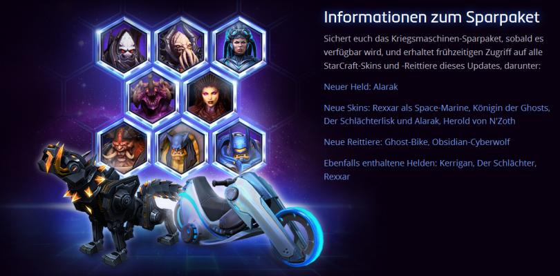 Heroes of the Storm – Alle Helden kostenlos spielbar