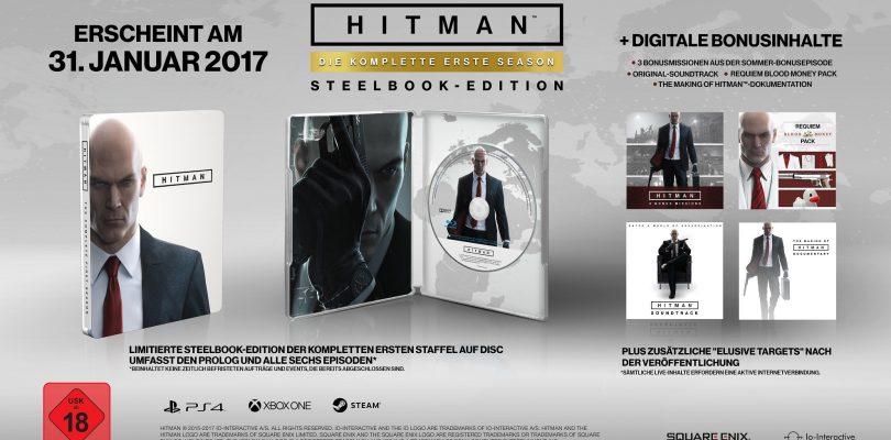 Hitman – Das steckt in der Retail-Fassung