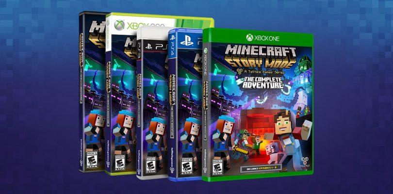 """Minecraft: Story Mode erscheint als """"The Complete Adventure"""" im Handel"""