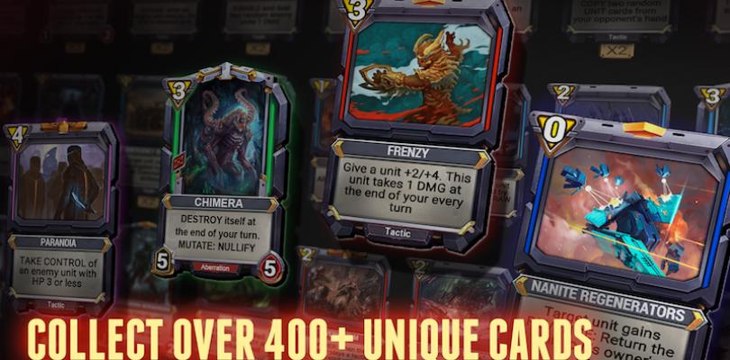 Star Crusade: War for the Expanse – Kartenspiel startet auf Steam und iOS