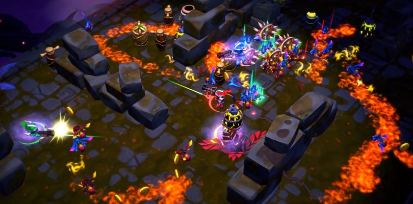 Super Dungeon Bros – Trailer & Infos zum Rockmusik-Co-Op-Dungeon-Brawler