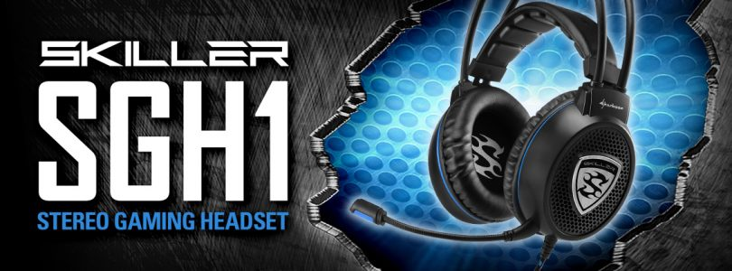 Sharkoon Skiller SGH1 Stereo Headset um 20€
