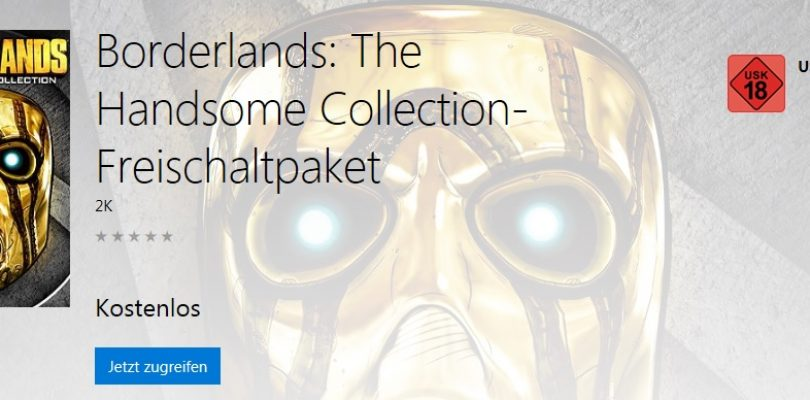 Borderlands: The Handsome Collection – Gratis für XBox One