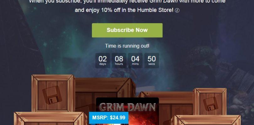 Humble Monthly – Diesen Monat mit Grim Dawn