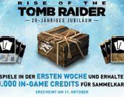 Rise of the Tomb Raider – 100.000 Credits, Achivementliste zur 20-Jähriges Jubiläum Edition