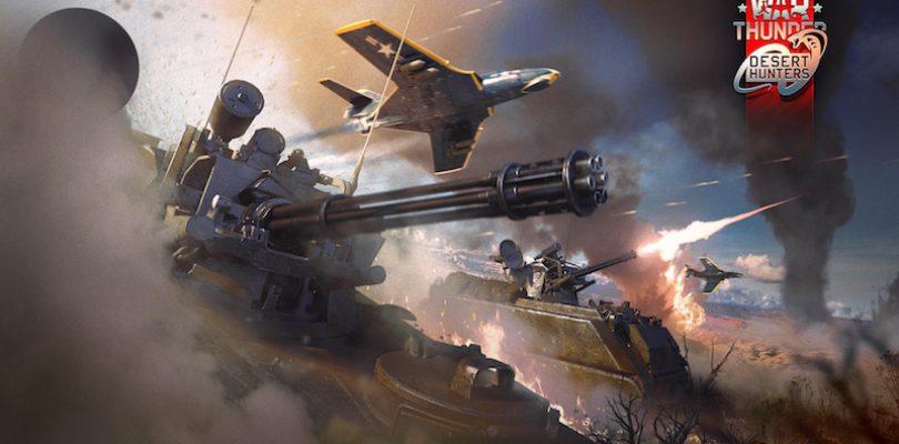 """War Thunder – Update 1.63 """"Desert Hunters"""" bringt frische Karten und Fahrzeuge"""