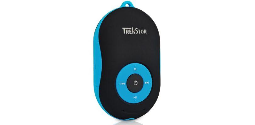 TrekStor i.Beat soundboxx BT ist MP3-Player und Bluetooth-Lautsprecher mit Freisprechfunktion sowie Spritzwasserschutz