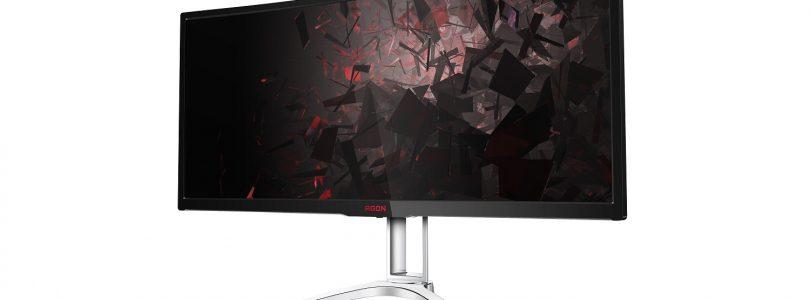 Das ist der Premium-Bildschirm AOC AGON AG352QCX 35 Zoll Curved