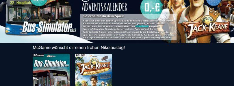 McGame – Morgen bekommt ihr zwei Spiele gratis