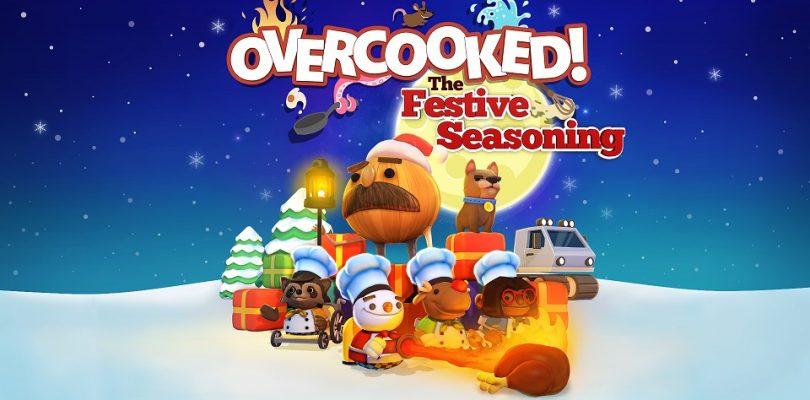 """Overcooked – Kostenloser DLC """"The Festive Seasoning"""" erscheint am 06. Dezember"""