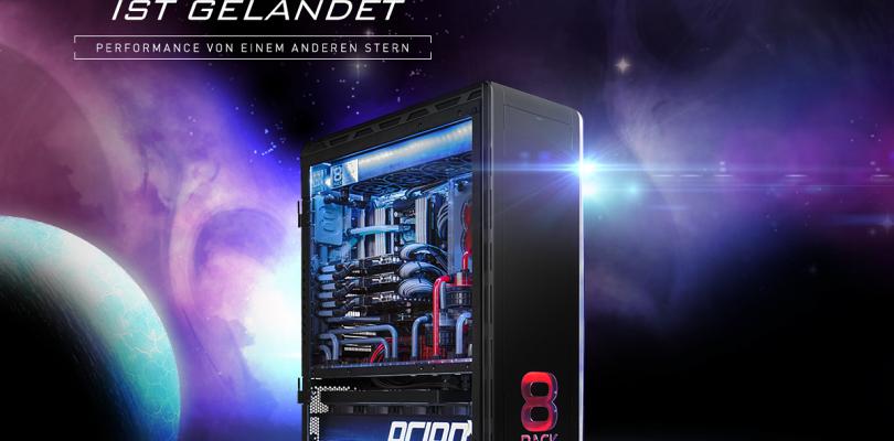 Caseking dreht durch! 8Pack OrionX Gaming-PC mit Dual-System und Custom-Wasserkühlung