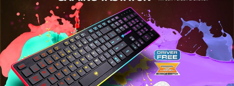 Farbenfrohe Gaming-Tastatur – Das kann die Cougar Vantar