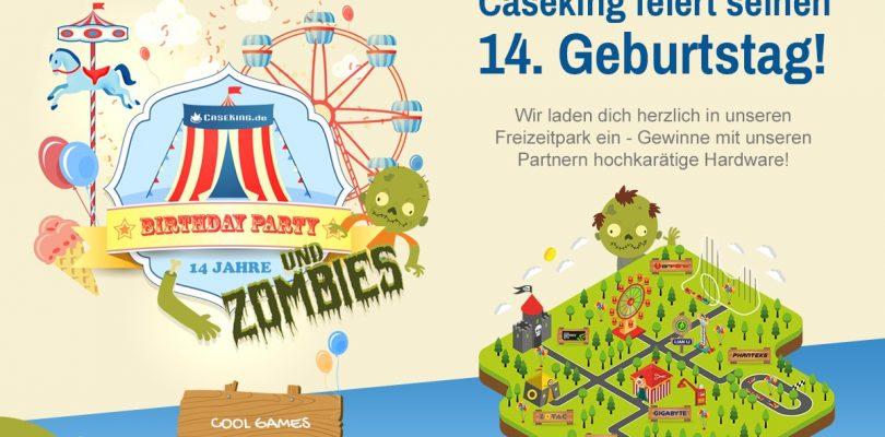 Caseking feiert Geburtstag mit geilen Preisen und fettem Gewinnspiel