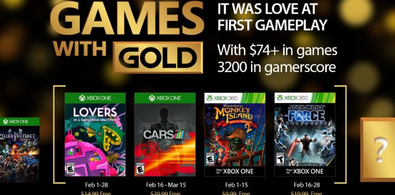 Die Games With Gold im Februar 2017