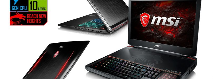 Gaming Laptop GT83VR von MSI im Blickpunkt