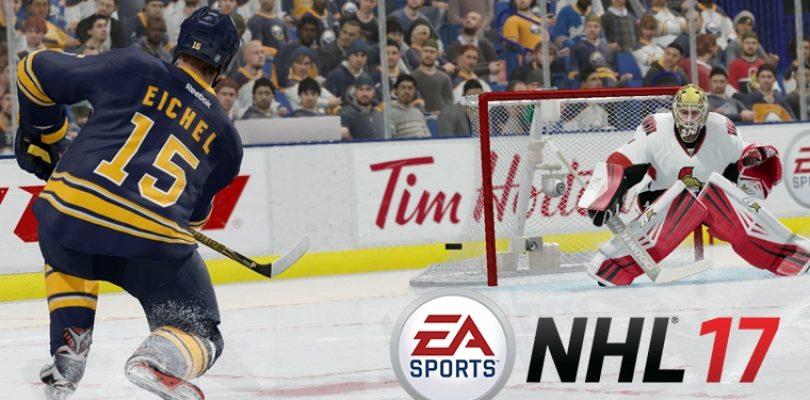 NHL 17 – Großes Update für Eishockeyfans veröffentlicht