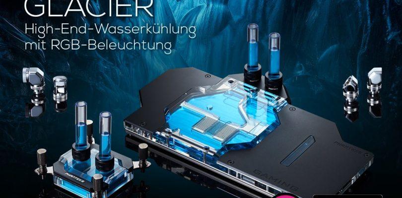 Das ist die neue CPU & GPU-Wasserkühlung Phanteks Glacier