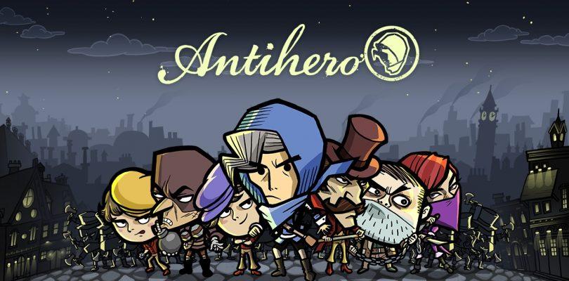 Antihero – Trailer & Infos zum rundenbasierten Strategiespiel