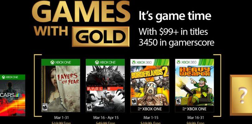 Games With Gold – Im März 2017 gibt´s wieder geile Games