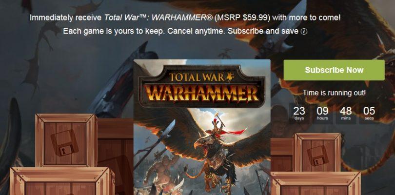 Humble Monthly – Im Februar mit Total War Warhammer