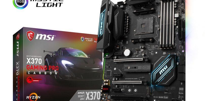 AMD Ryzen – Hier sind die Gaming-Mainboard von MSI