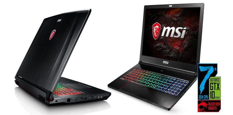 MSI Gaming-Notebooks – Die Mittelklasse GE72/62 und GS73/63 im Detail