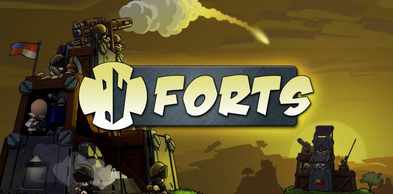 Forts – Physikbasiertes Strategiespiel erscheint am 17. April