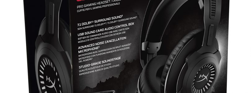 HyperX Cloud Revolver S Gaming-Headset mit Plug-and-Play Dolby Surround ist ab sofort verfügbar