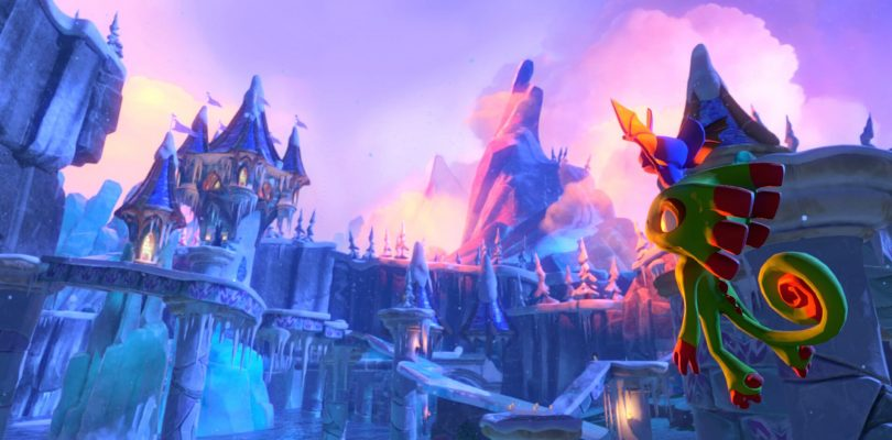 Yooka-Laylee – Gameplay-Video zeigt eisige Winterlandschaft