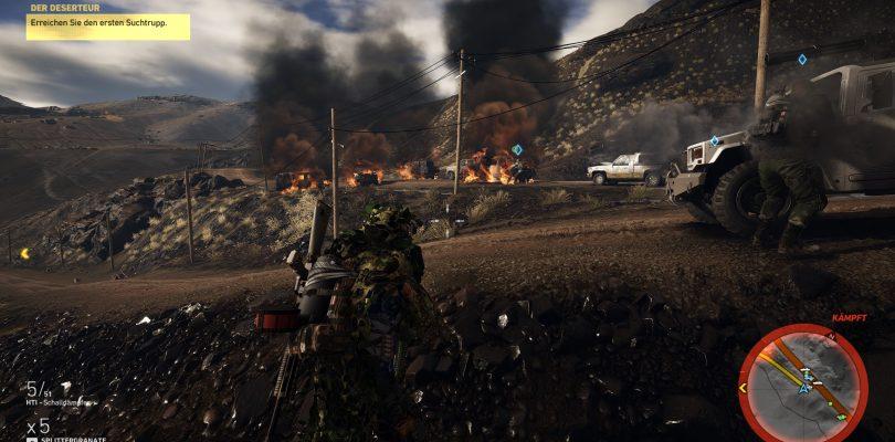 Ghost Recon Wildlands – Trailer zur XBox One X-Version