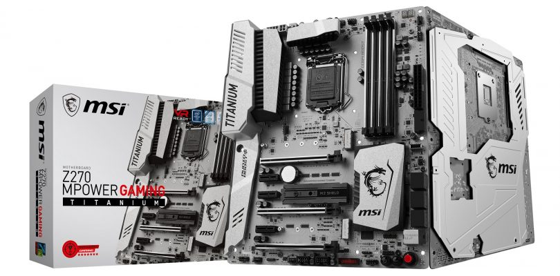MSI kündigt Z270 MPower Gaming Titanium Mainboard an