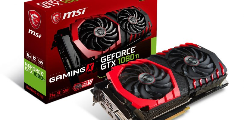 MSI hat fünf neue GeForce GTX 1080 Ti-Modelle mit Twin Frozr VI-Technologie