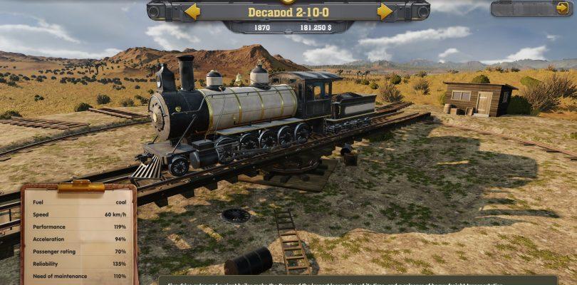 Railway Empire – Teaser-Trailer zur WiSim veröffentlicht