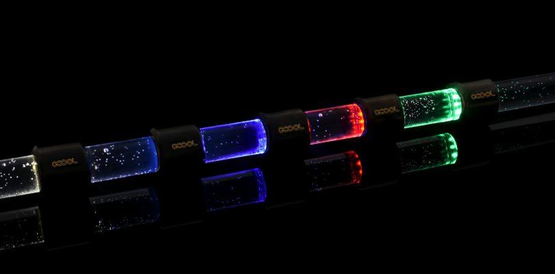 Die Aurora HardTube LEDs sorgen für individuelles Design