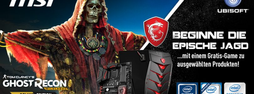 Promo-Aktion von MSI: Ghost Recon Wildlands gratis beim Kauf von Hardwareteilen