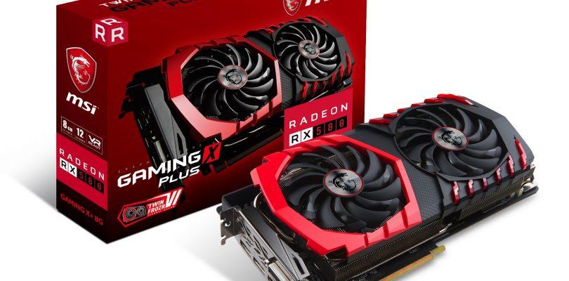 Frische AMD-Grafikkarten RX 570 und 580er-Modelle von MSI