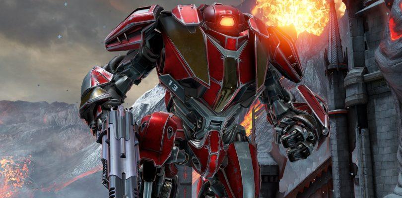 """Quake Champions – Robochamp """"Clutch"""" stellt sich vor"""