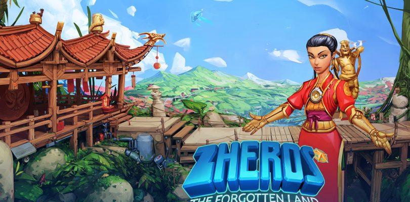"""Zheros – Zum PS4-Launch startet auch das DLC """"Forgotten Land"""" auf PC und XBox One"""