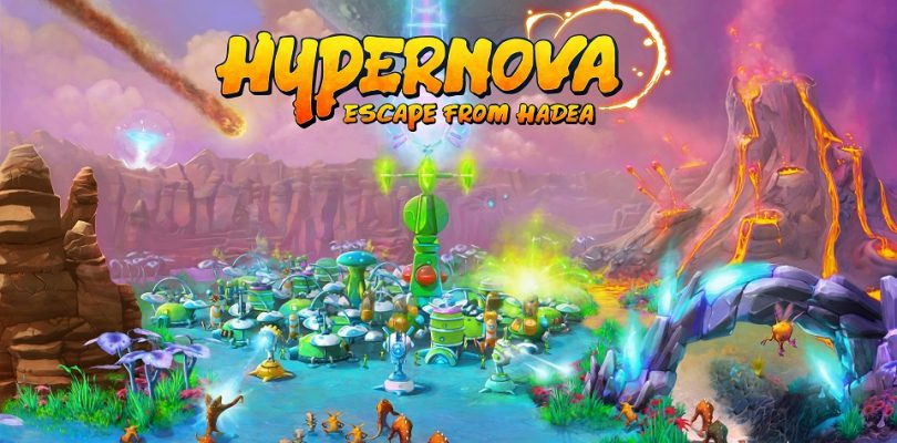 Hypernova: Escape From Hadea – Optisch einzigartiges RTS startet auf Steam Greenlight
